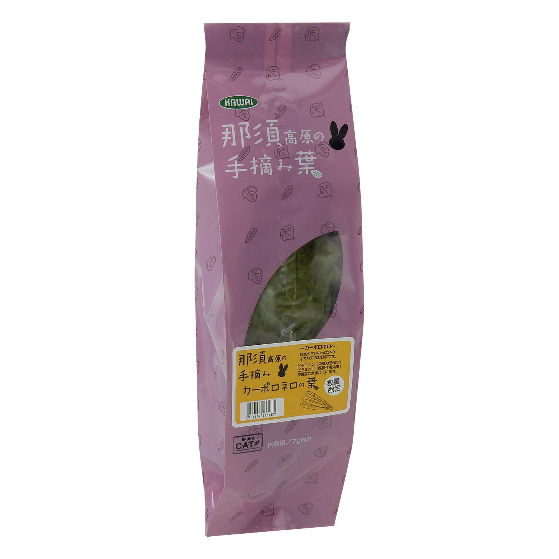 うさぎ用品:補助食品 那須高原の手摘み【カーボロネロの葉】