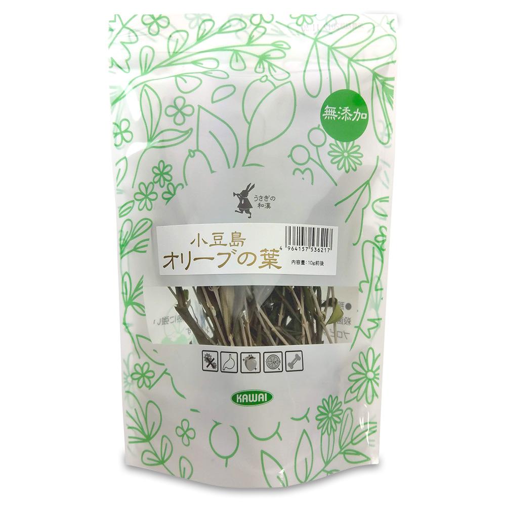うさぎ用品:補助食品 川井 うさぎの和漢小豆島オリーブの葉
